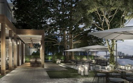 An artist's impression of the five-star Capella Bangkok, which will open in the Thai capital next spring and feature 101 suites facing the Chao Phraya River. Photo: Capella Bangkok