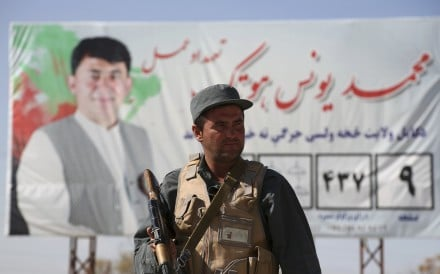 The Taliban has warned candidates to withdraw from the ballot, which it has vowed to attack