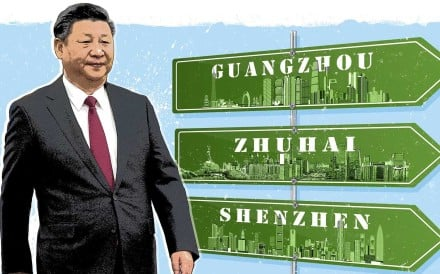 Chinese President Xi Jinping will be hoping to boost confidence when he heads south in the coming days. Illustration: SCMP