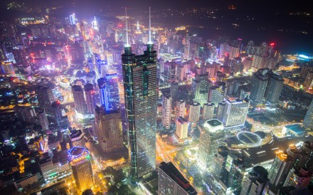 Shenzhen at night. Lonely Planet singled out the southern Chinese city's young people, new cafes, craft beer scene, and new arts district. Photo: Alamy