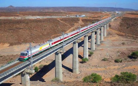 The Addis Ababa-Djibouti freight railway has cost China's state export credit insurer close to US$1 billion in losses. Photo: Handout