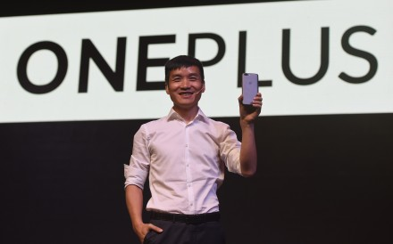 Pete Lau, the founder and chief executive of Chinese smartphone supplier OnePlus, says the company will introduce the first commercial 5G handset in Europe next year through British mobile network operator EE. Photo: Agence France-Presse