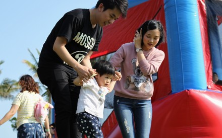 Hong Kong couples need more concrete support to remove barriers to having children. Financial incentives, strengthened social support for parents, free preschool education and improvement in the quality of education are some of the preferred measures. Photo: Roy Issa