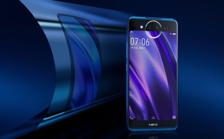 Nex Dual Display Edition phone features a 6.39-inch AMOLED display on the front and a 5.49-inch AMOLED rear display with triple cameras. Photo: Handout