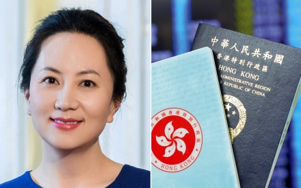 Hong Kong has been fixated on the number of passports in Huawei executive Sabrina Meng's possession. Photo: Handout/HKISD