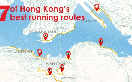 Hong Kong has many tranquil routes which allow runners to give their minds a break from the pressures of the city.