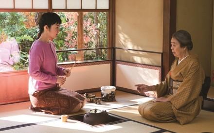 Kirin Kiki (right) and Haru Kuroki in Every Day a Good Day (category I; Japanese), directed by Tatsushi Ohmori.