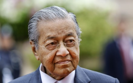 "Malaysian Prime Minister Mahathir Mohamad says the government needs ""to find this document and make use of [it] as proof that this thing actually happened"". Photo: EPA"