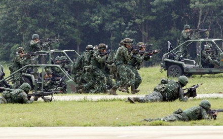 Taiwan's military will stage its first exercises for the year next week. Photo: AP