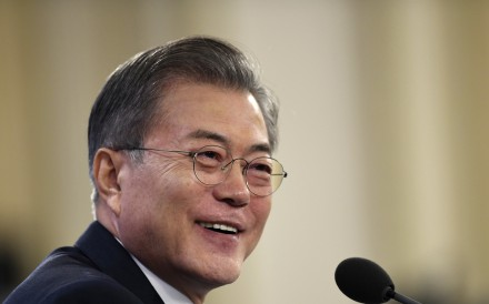 South Korean President Moon Jae-in. Photo: AP
