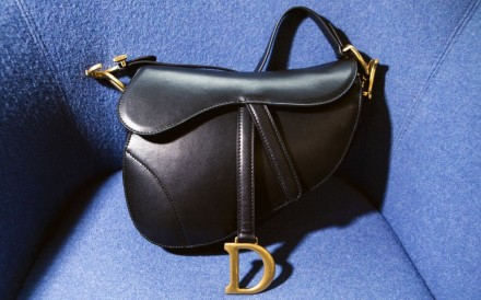 A counterfeit Dior saddle bag. Photo: Giulia Marchi/Bloomberg Businessweek