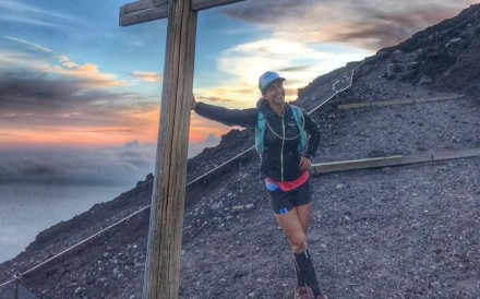 Alyx Ulbrich is taking part in the 298-kilometre ultramarathon and expects waves of highs and lows. Photos: Handout