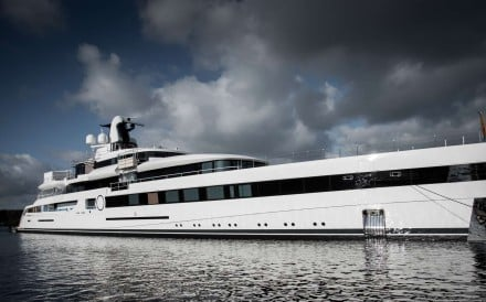 The US$100 million Lady S, also known as Project 814. Photo: Feadship