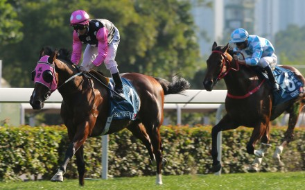 Beauty Generation coasts to victory in the Group One Stewards' Cup on Sunday. Photos: Kenneth Chan