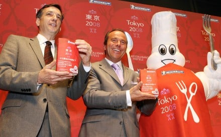 The Michelin Guide first branched out into Asia with a Tokyo version. Photo: AFP