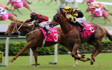 Time Warp beats home Glorious Forever in the Sa Sa Ladies' Purse. Photos: Kenneth Chan