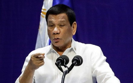 Philippine President Rodrigo Duterte. Photo: EPA
