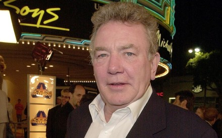 British actor Albert Finney arrives to attend the premiere of the film Erin Brockovich in 2000 in Los Angeles. Photo: AFP
