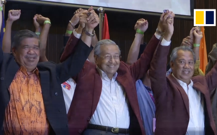 At the age of 92, Malaysia's former strongman leader Mahathir Mohamad is poised to become the world's oldest prime minister after a stunning election victory against scandal-hit leader Najib Razak.