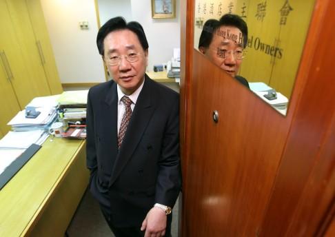 Michael Li Hon-shing, executive director of the Federation of Hong Kong Hotel Owners.