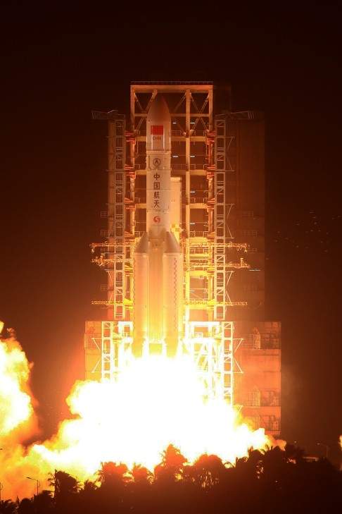 China had previously successfully launched the Long March-5 rocket in November 2016, its first launch of the rocket.