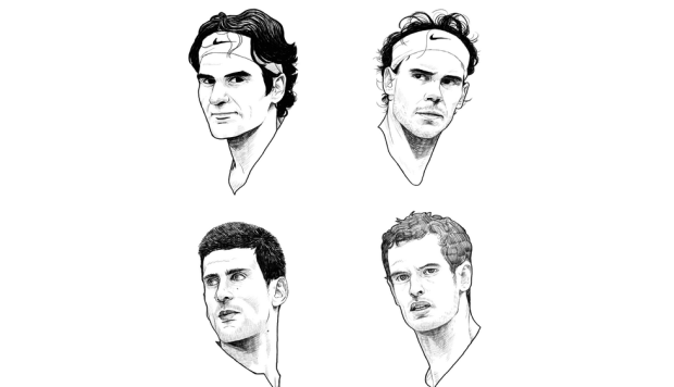 INFOGRAPHIC: In men's tennis, how big are the Big Four