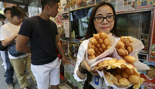 Egg waffles and cart noodles get street cred hong kong for Cuisine x hong kong margaret