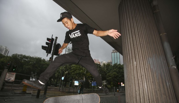 Hong Kong skateboarders hurdling bureaucracy, one ollie at a time