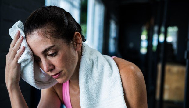 If you sweat more during a workout, do you burn more calories?