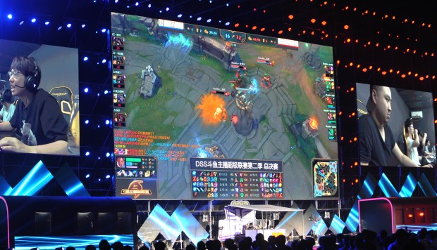 electronic sports really a sport I think, when we look in we're going to see a really, really healthy e-sport system  at the university level, much like we see with traditional sports.