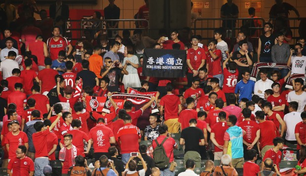 Hong Kong's anthem boo-boys are just uncivilised losers