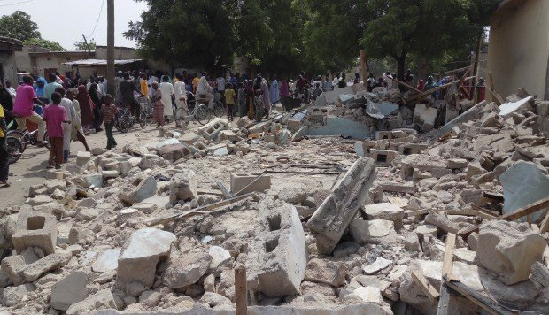 Boko Haram gunmen storm rural village in northeast Nigeria, suicide bomber kills five