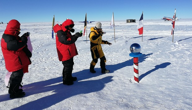 South Pole tour guide on how it's made bucket list of Chinese tourists