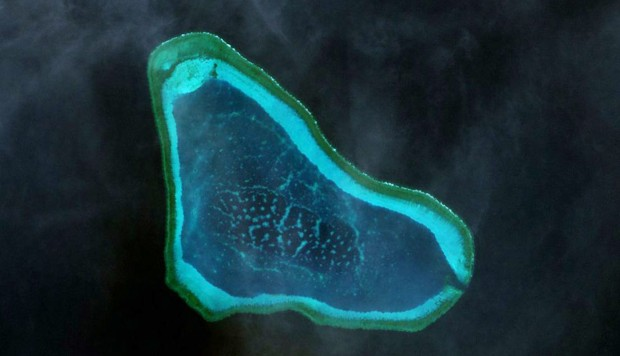 China 'warns off' US destroyer near South China Sea's strategic Scarborough Shoal