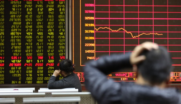 China Stocks Officially In Bear Territory Lose Market Cap Bigger