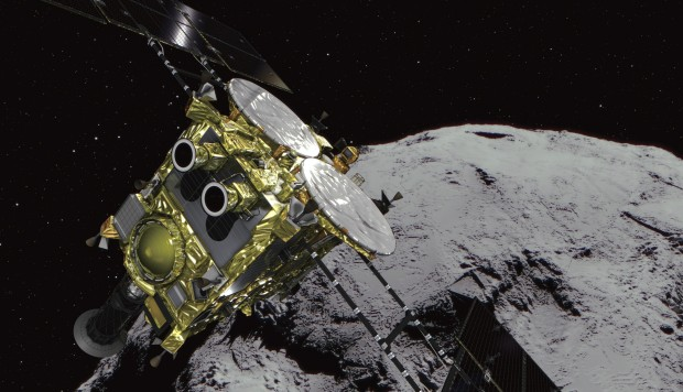 Japanese space robots have landed on asteroid in world first