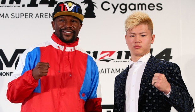 Floyd Mayweather is making a mockery of Japanese culture