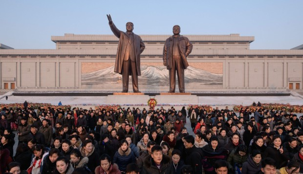North Korea marks birthday of late leader Kim Jong-il ahead of summit with US