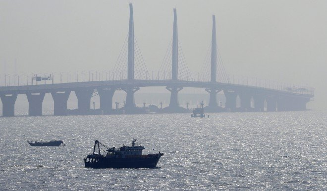 The Hong Kong-Zhuhai-Macau Bridge will likely open in mid-2018.