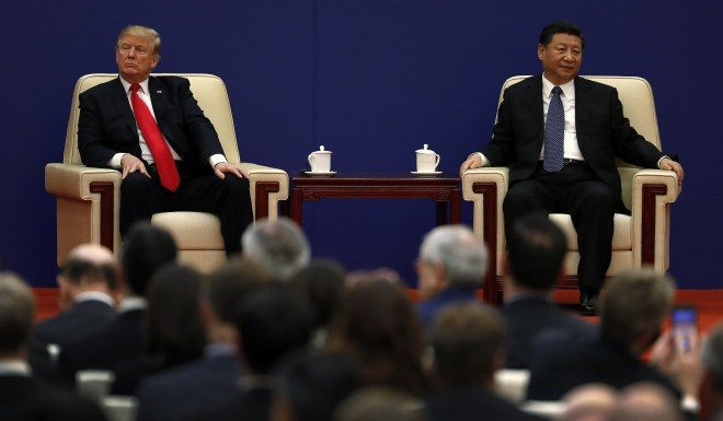 China and the US have been threatening tariffs against each other this month.