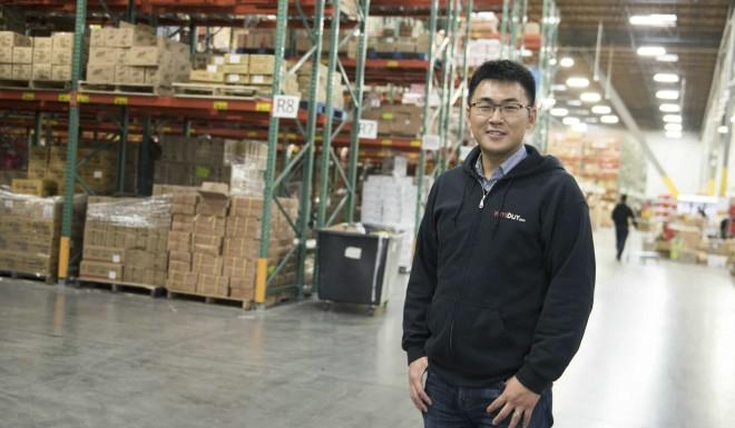 Alex Zhou, CEO of Yamibuy.