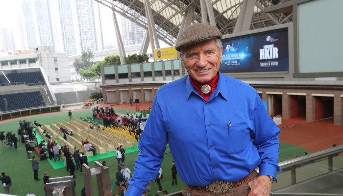 Renowned horse whisperer Monty Roberts in Hong Kong to work with Tony Cruz on Pakistan Star