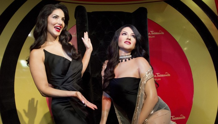 Ex-porn star's wax statue signals changing mores in India