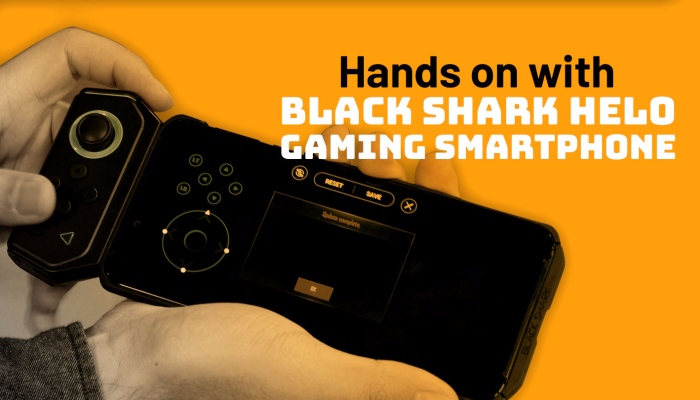 The Black Shark Helo gaming smartphone is not fun to play with