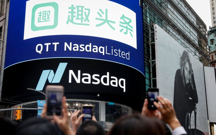 Tencent-backed News App Qutoutiao Triggers Circuit Breaker Five Times As It Jumps 128pc In Volatile Wall Street Debut