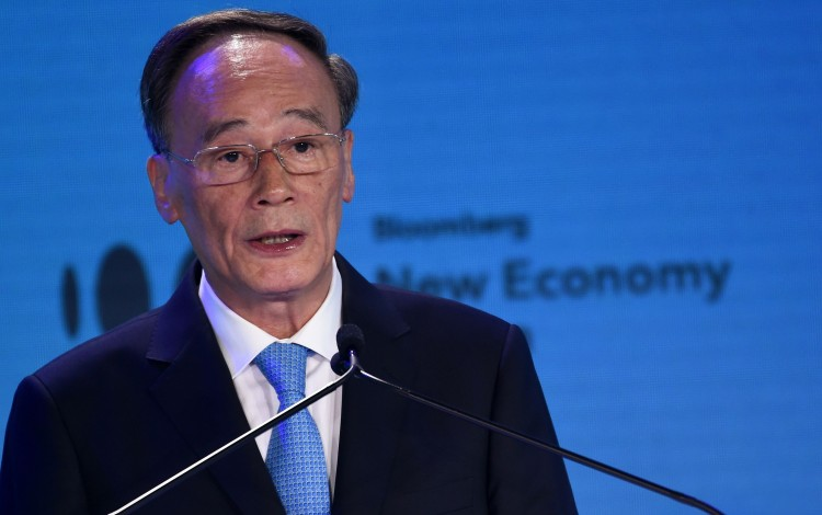 With Donald Trump Absent, Wang Qishan Will Seek To Make China's Case At World Economic Forum In Davos