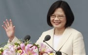 Taiwan's President Tsai Ing-wen took up office on May 20, 2016. Photo: AP