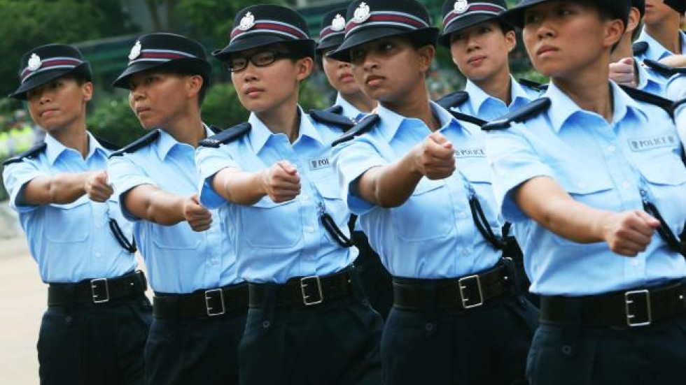 Asian police force
