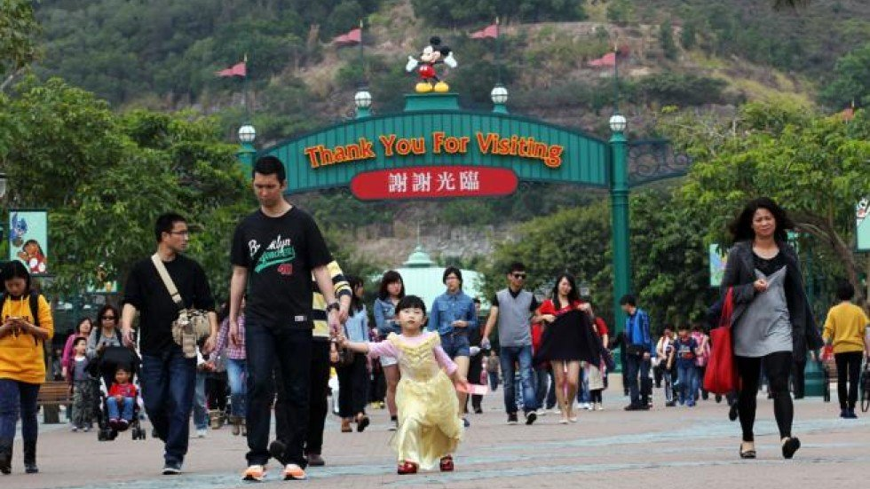 paltry profits for hong kong but a magic kingdom for disney  jake