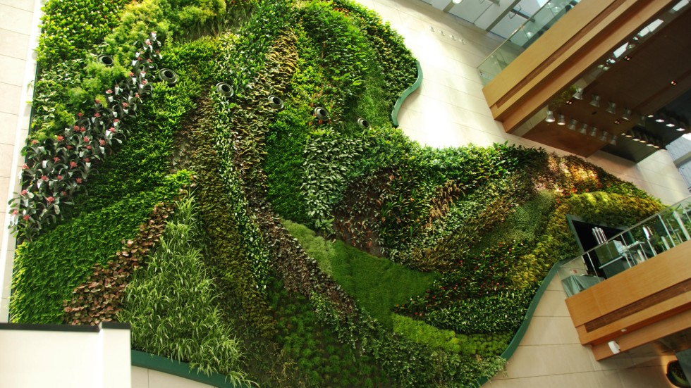 Vertical Gardens Breathe New Life Into Densely Populated